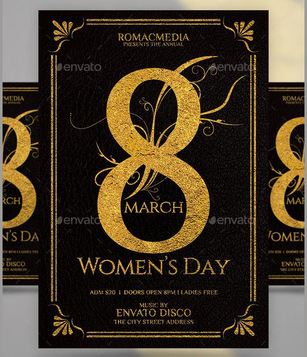 women club promotion flyer