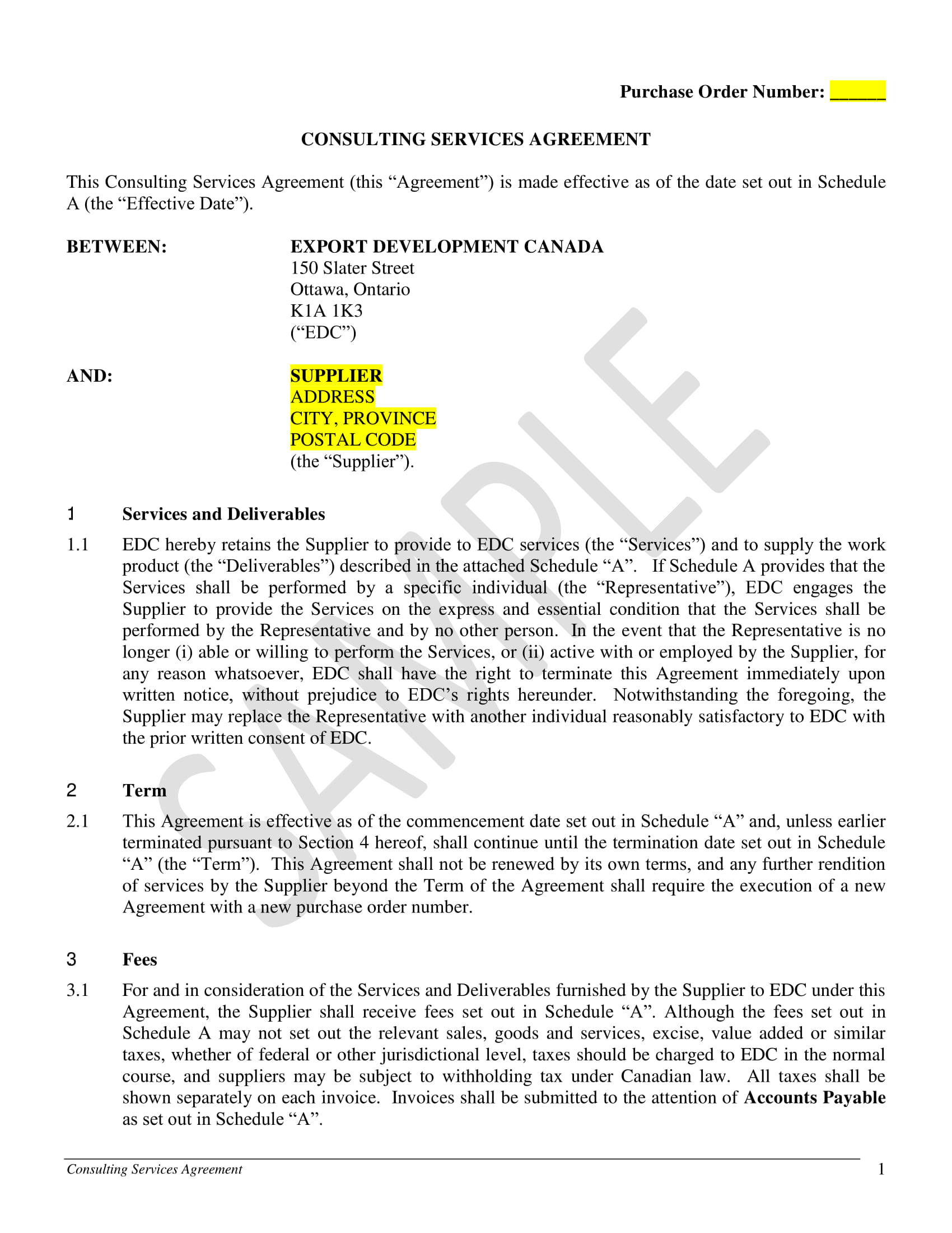 consulting services agreement 01