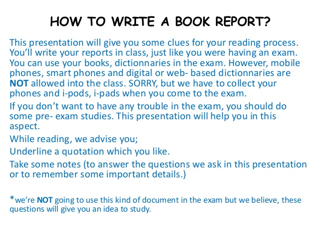 how to write a book report 1 638