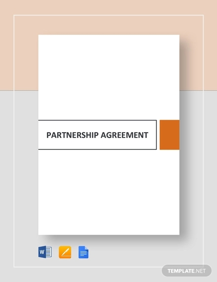 Free 60 Partnership Agreement Examples Samples In Pdf