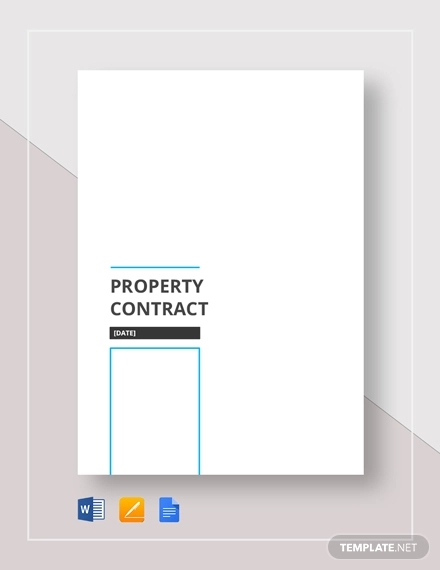 property contract1