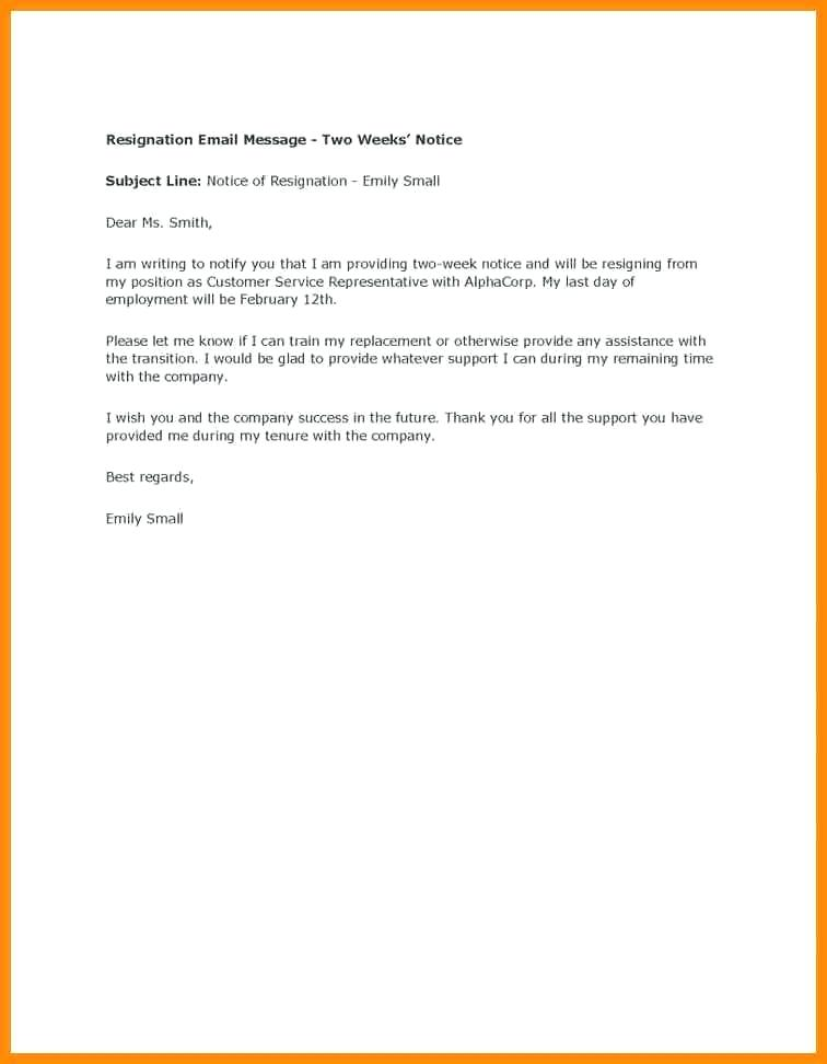 Writing a heartfelt resignation letters in pdf email resignation message example expocarfo Choice Image