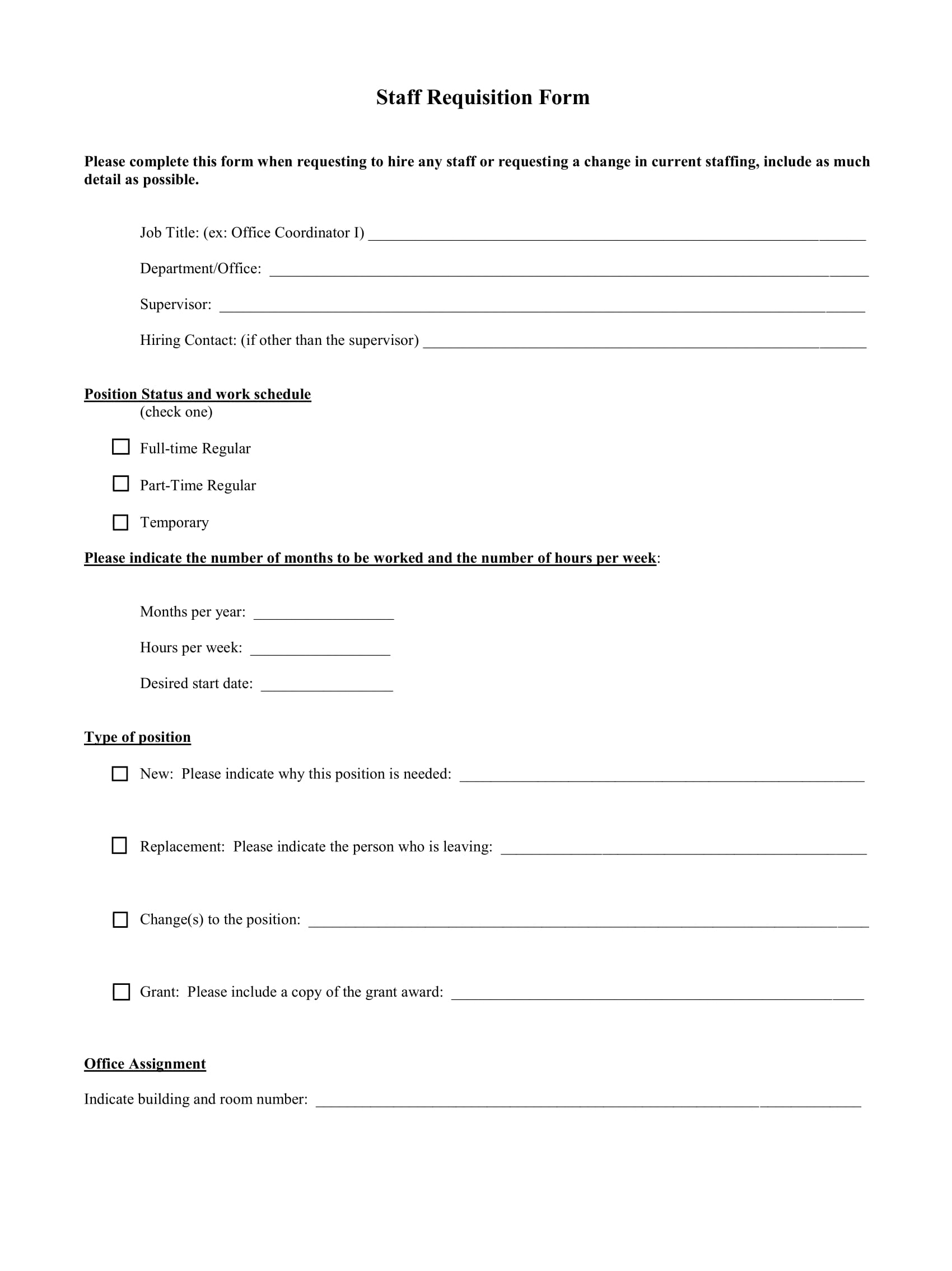 staff requisition form 1