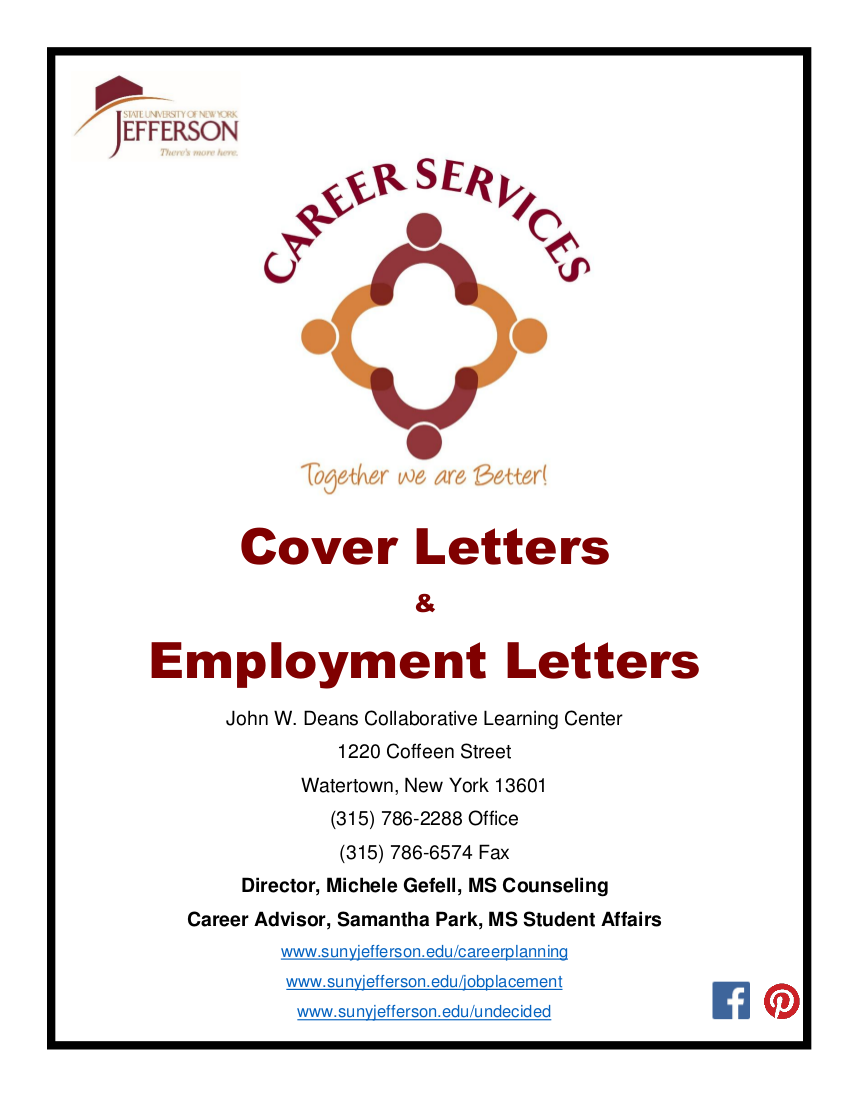 15 cover letter booklet