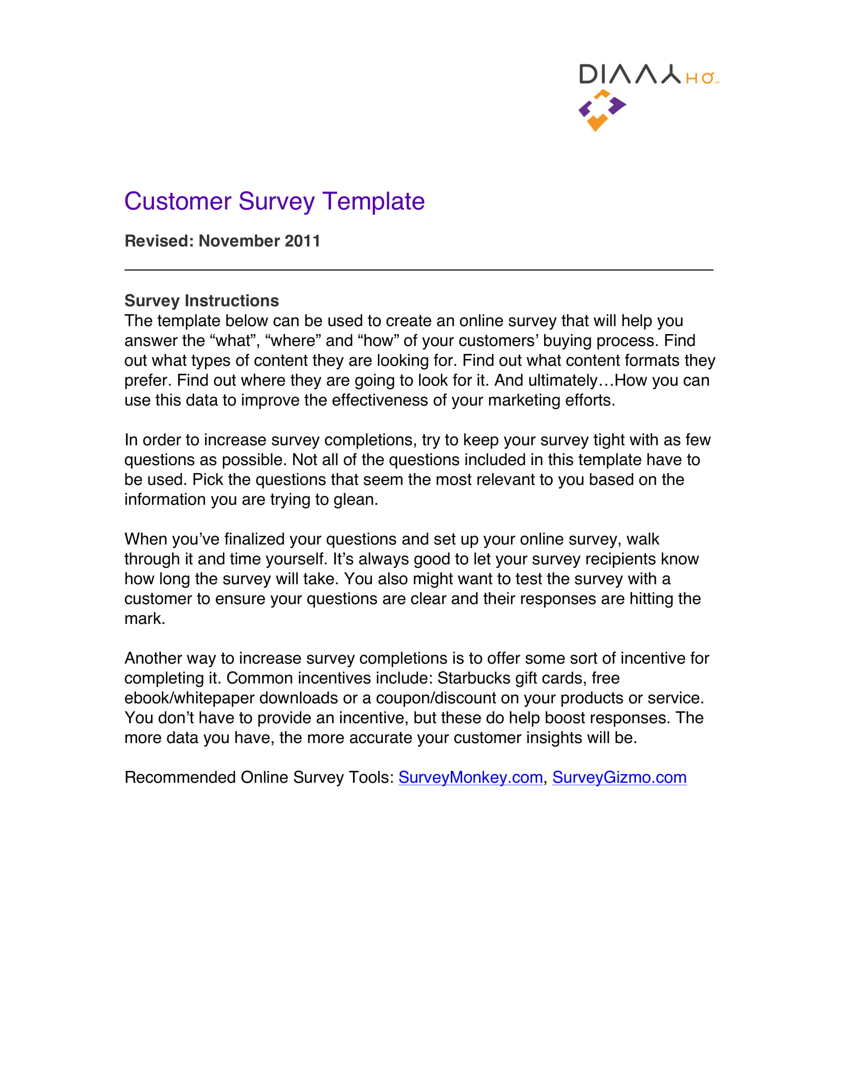 5 easy seriously steps to better buyer profiling customer survey template 1