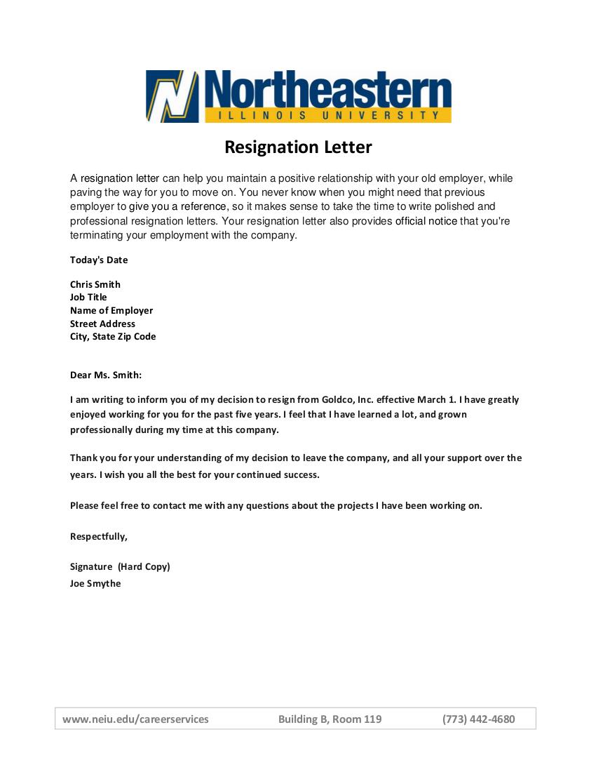 8 resignation letter1