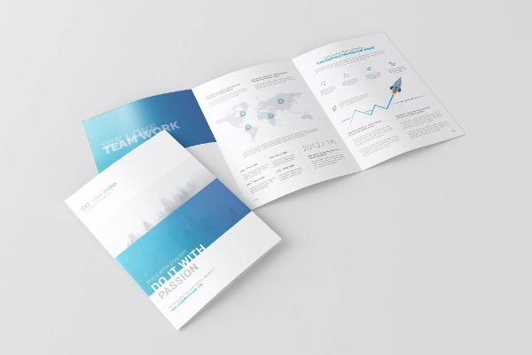 14  a4 brochure designs and examples