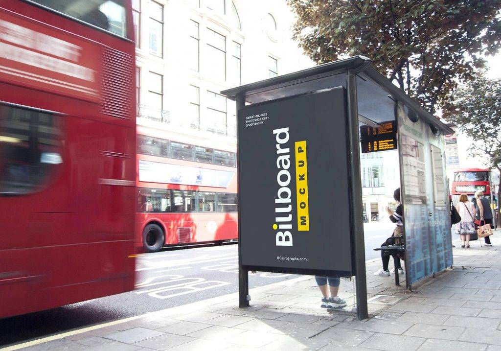 advertising billboards mock ups