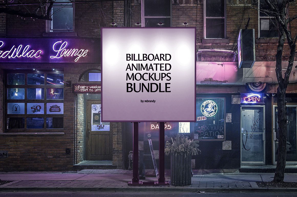 animated movie billboard