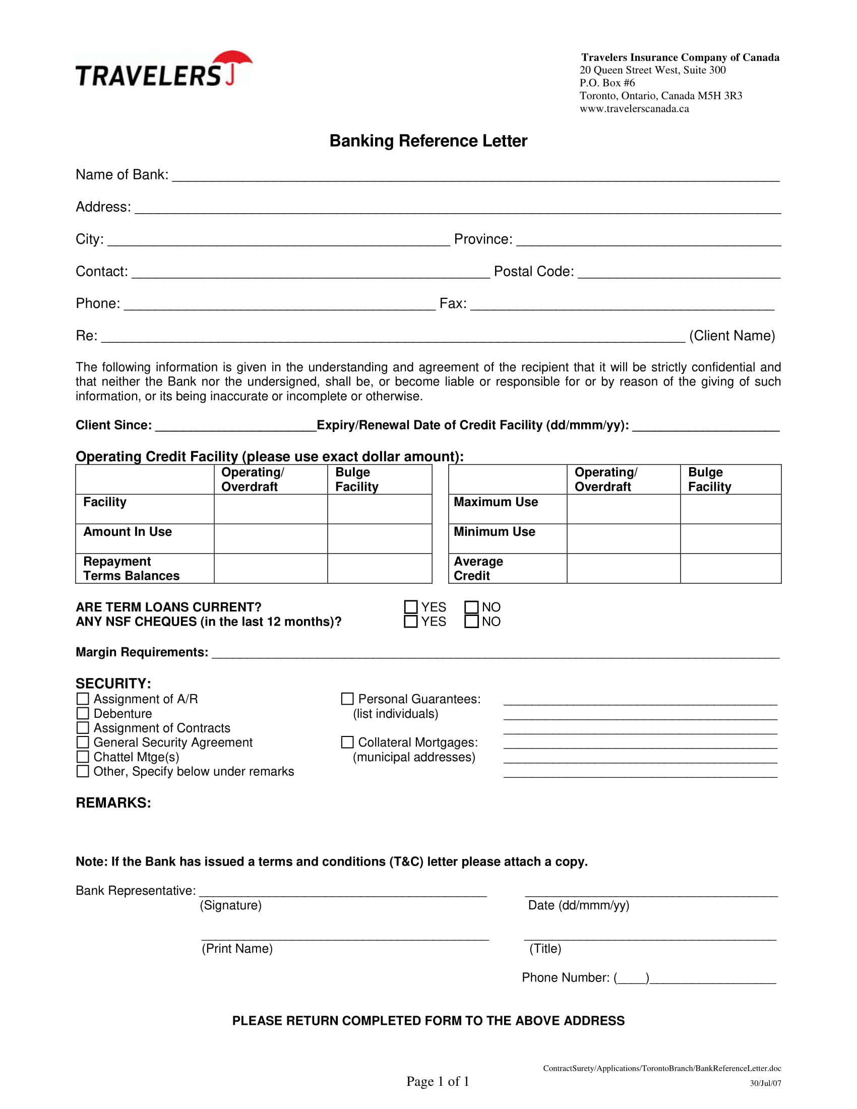Business Reference Letter Examples  Pdf