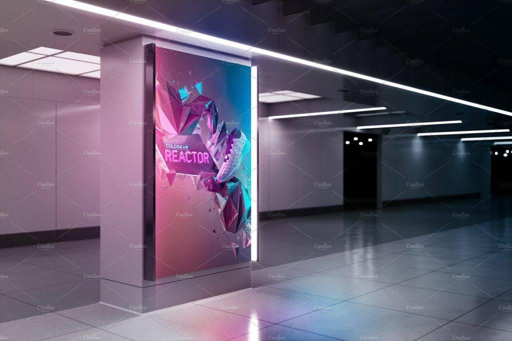 billboard mockup—ad station series