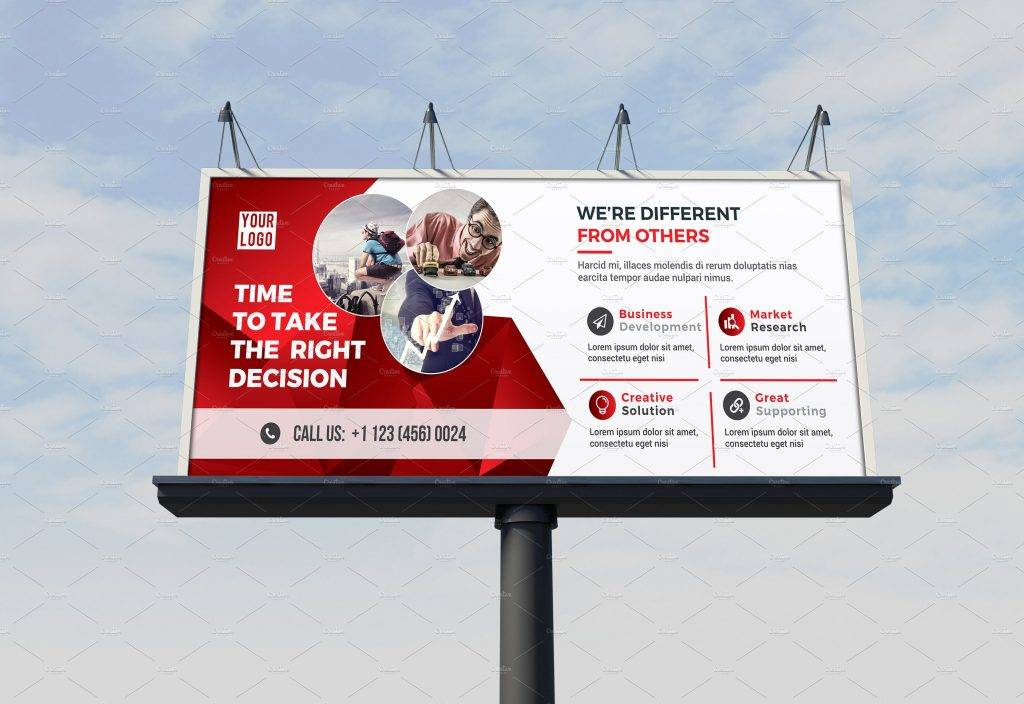 billboard template design example