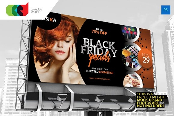 black friday billboard