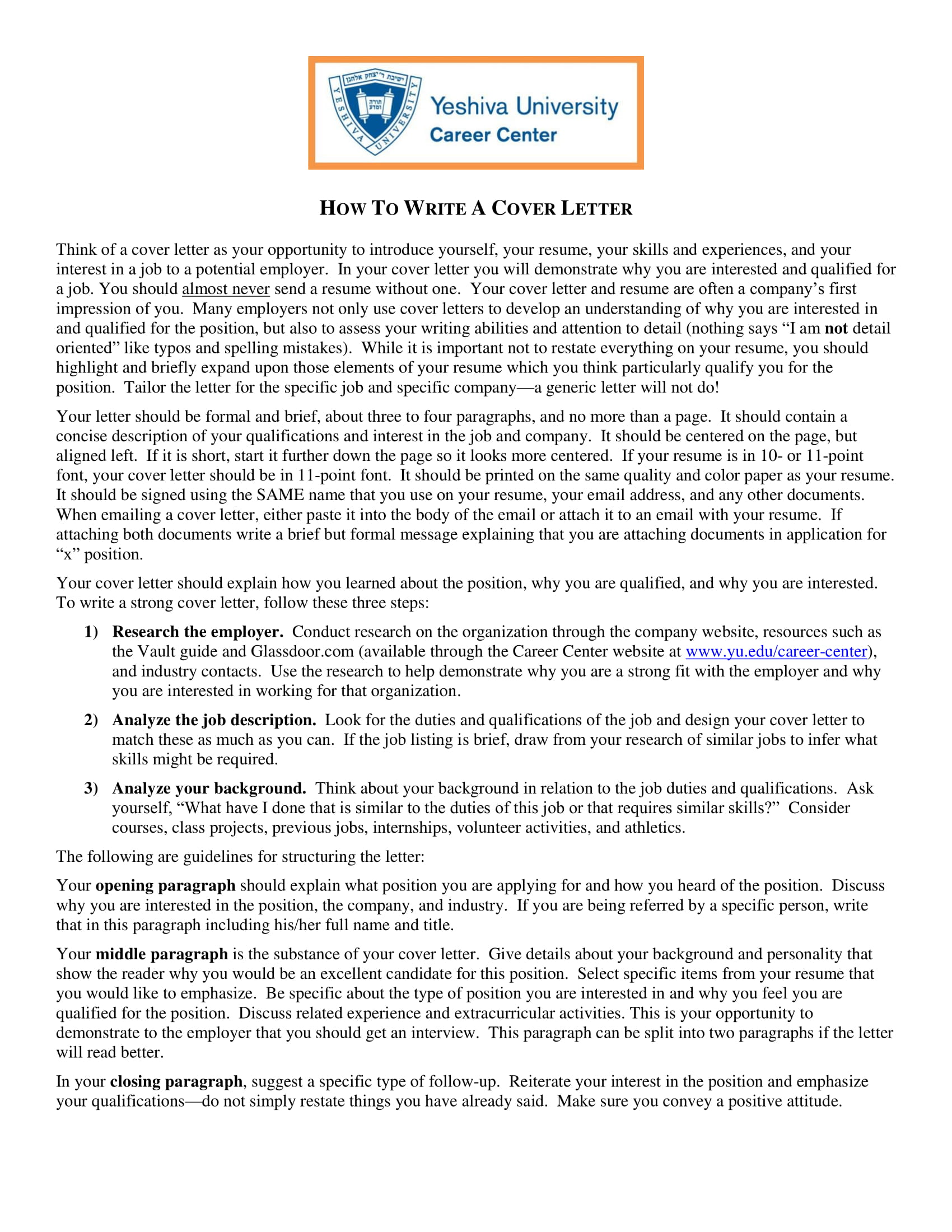 cover letters 11