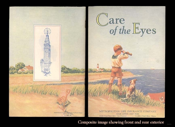 care of the eyes a beautifully poignant vintage book
