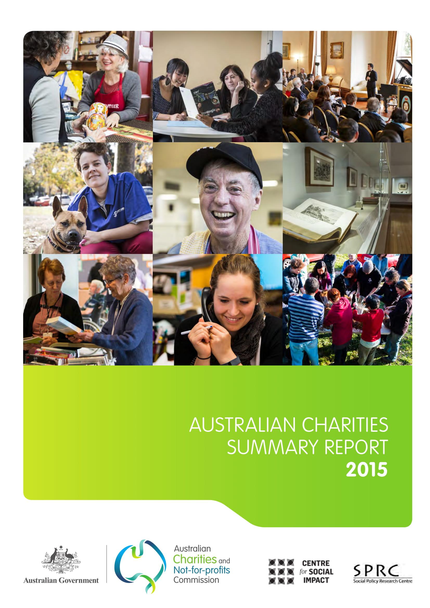 charities summary report