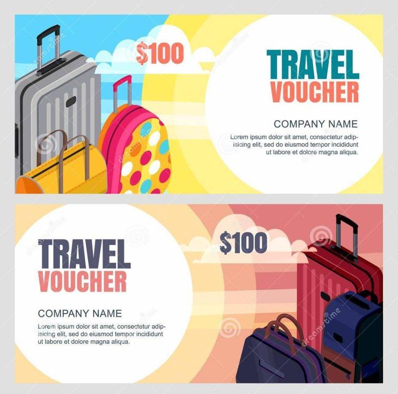 company travel voucher example