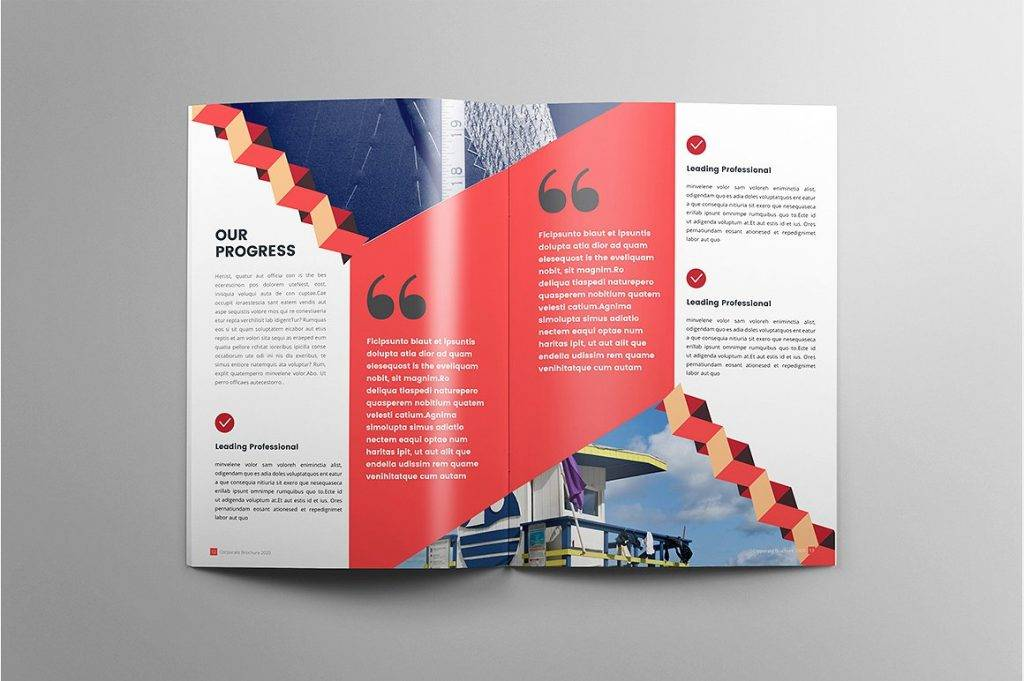 construction business brochure example