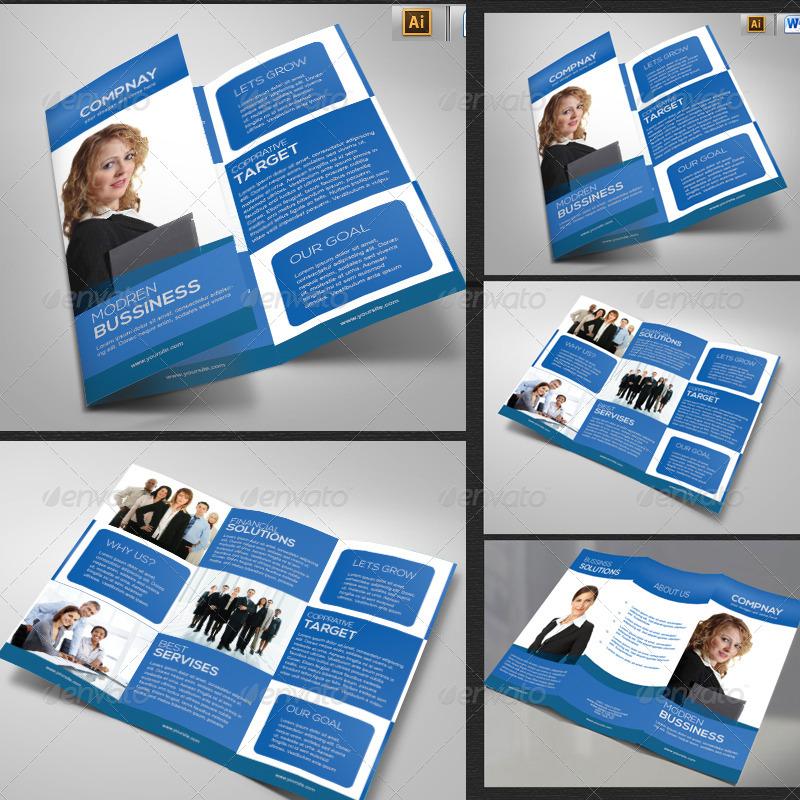 consulting tri fold brochure design1