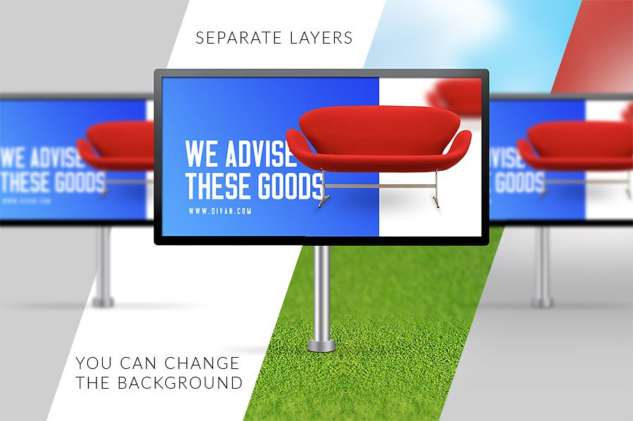 corporate billboard banner example