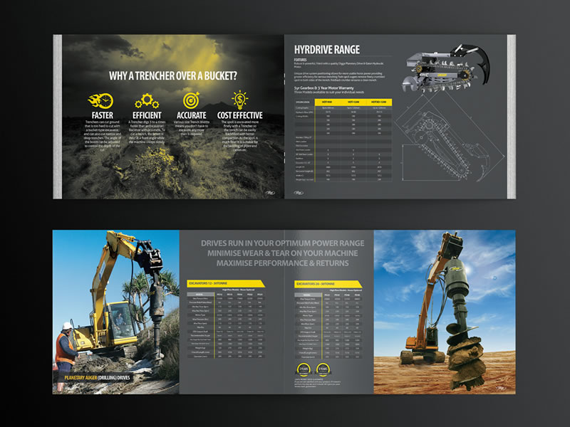 corporate construction brochure example