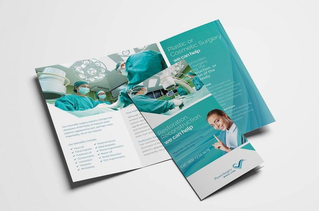 cosmetic surgery sample brochure