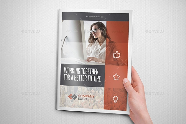 customizable multipurpose business brochure