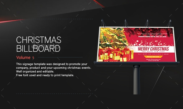 14 signage and billboard designs and examples psd ai. Black Bedroom Furniture Sets. Home Design Ideas