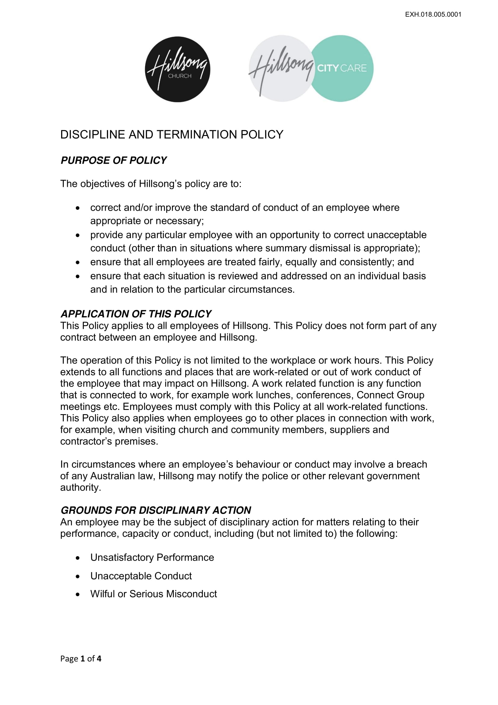 10 Examples of Termination Policies and Procedures - PDF