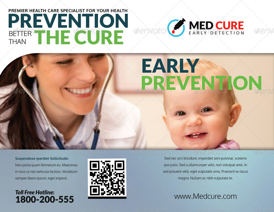 early prevention vaccination sample brochure