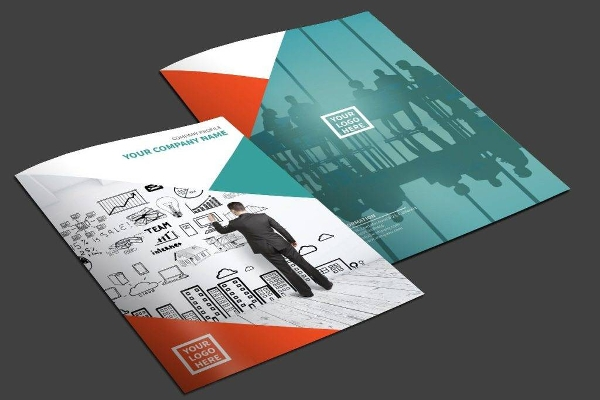 editable multipurpose business brochure