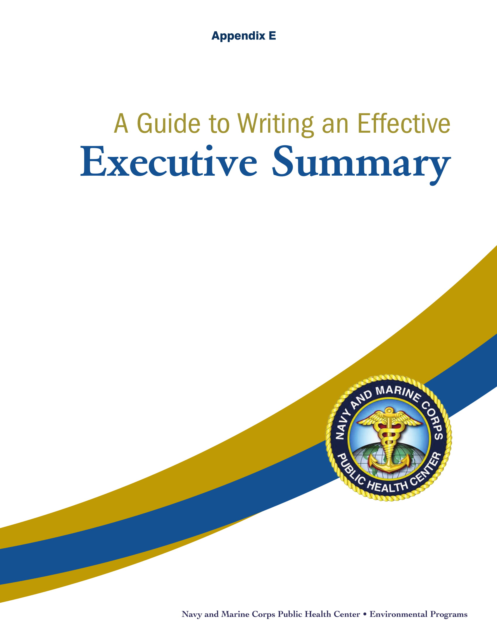 effective executive summary