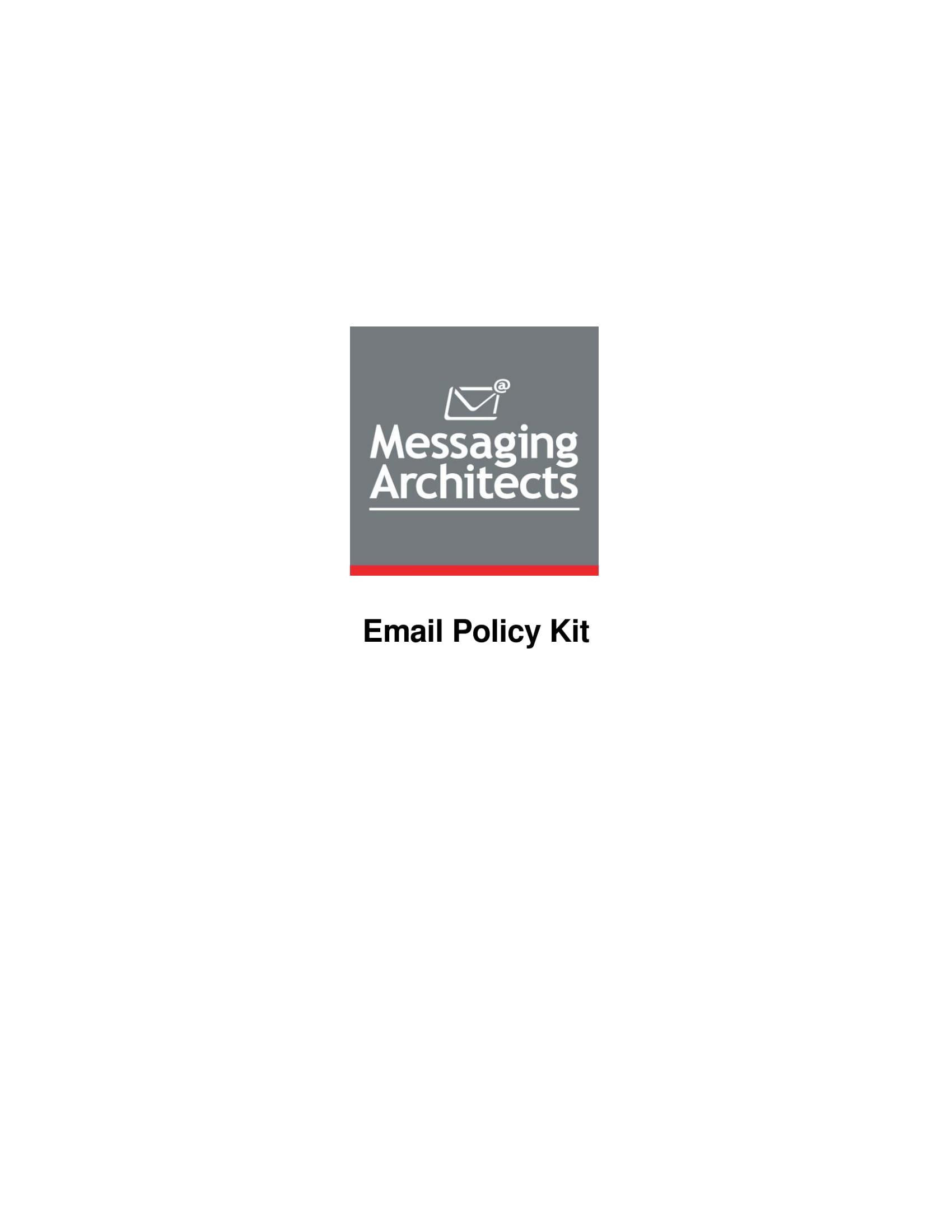 employee email policy kit example