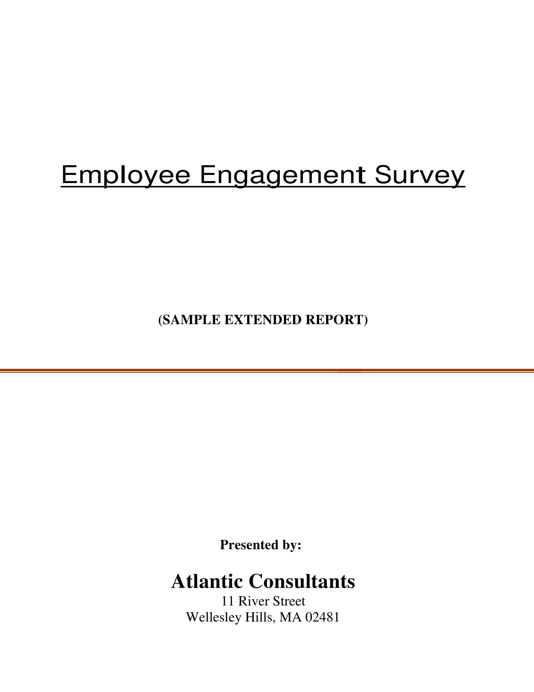 employee engagement survey form example