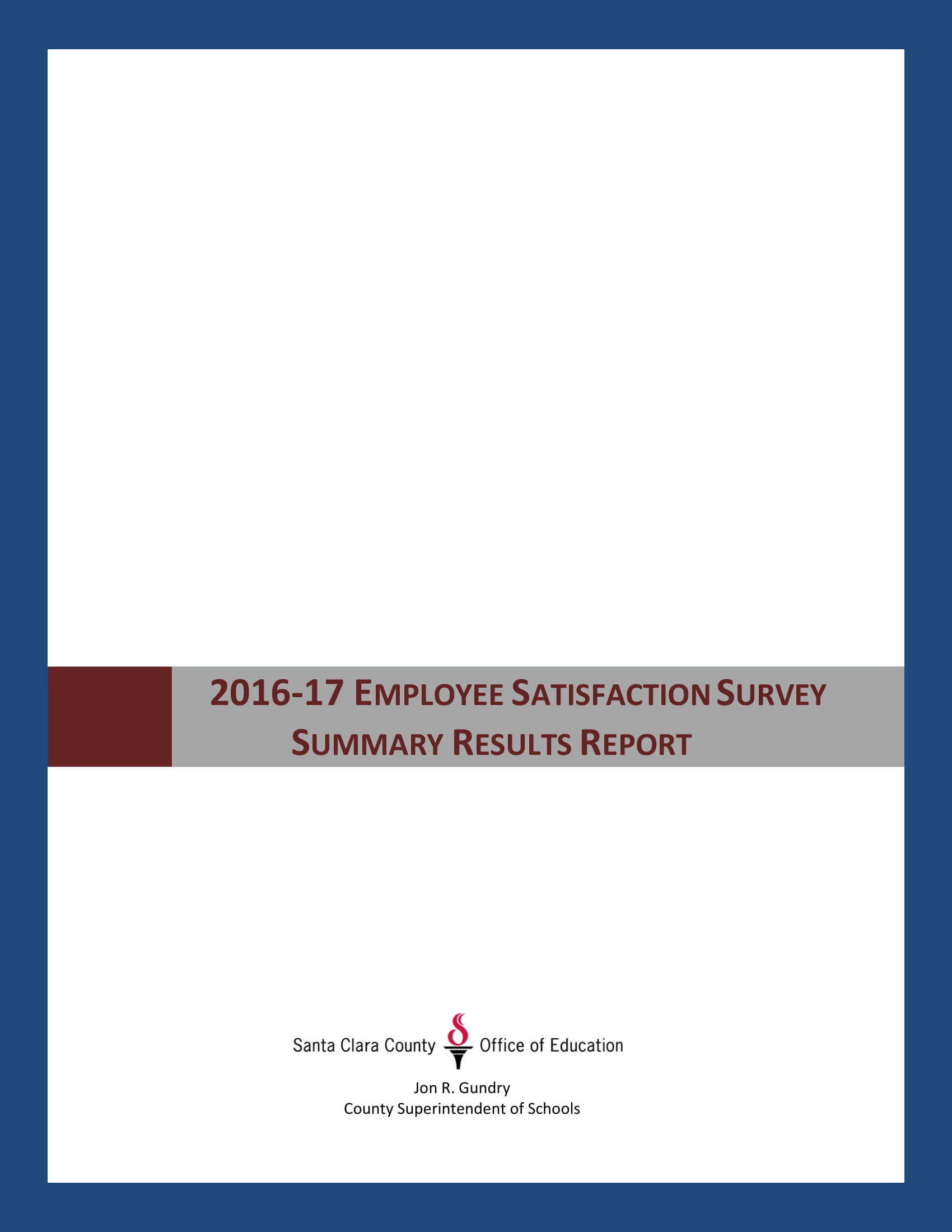 employee satisfaction survey form example and result summary