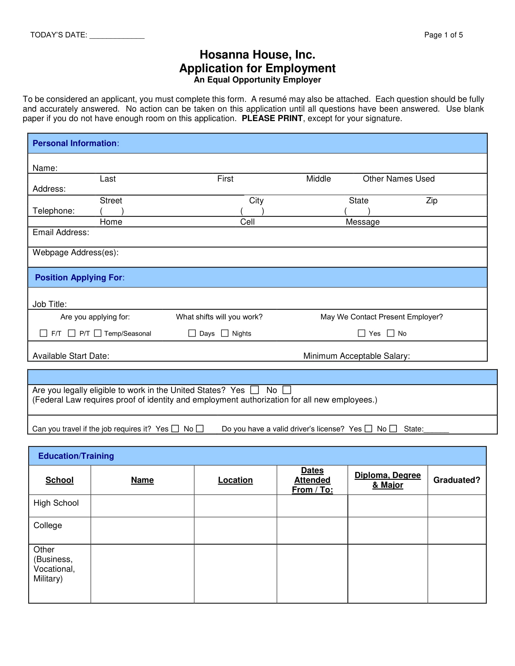 14 employment application form examples pdf employment application form example thecheapjerseys Image collections