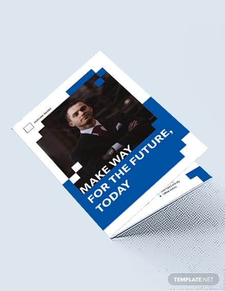 engineering consultants bi fold brochure template