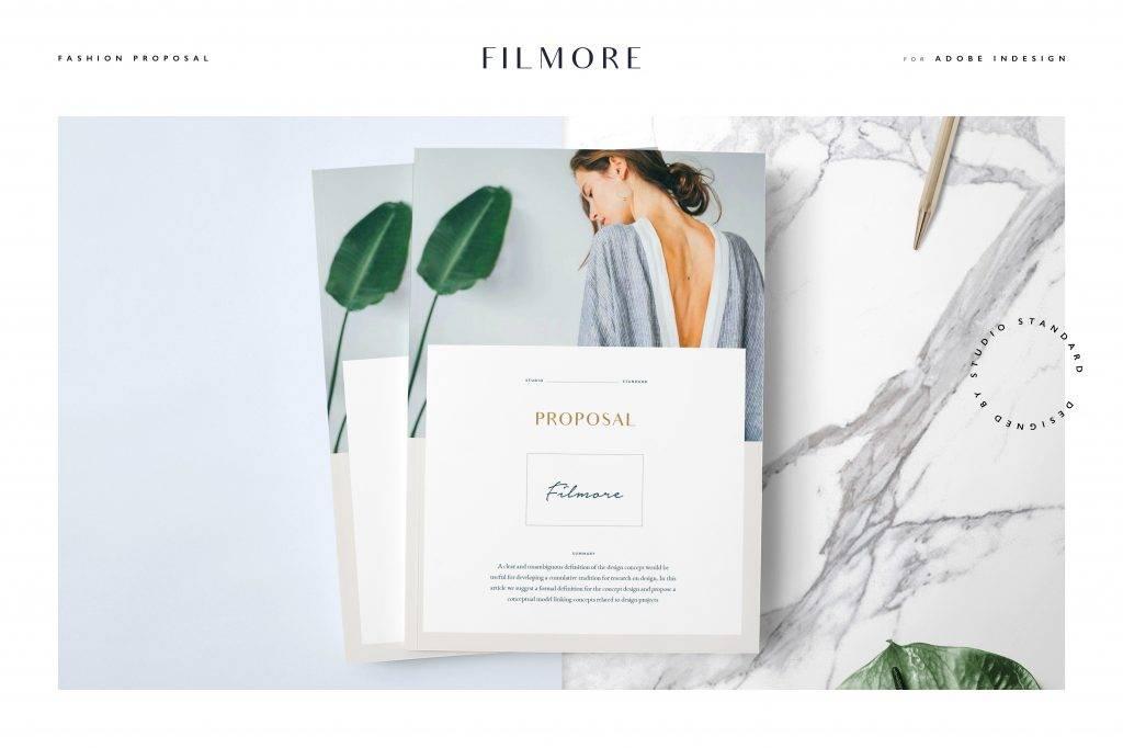 filmore fashion proposal brochure