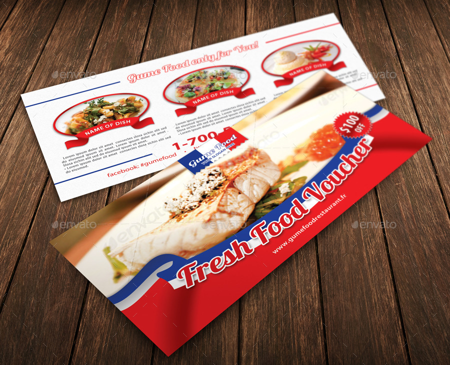 fresh cuisine voucher example