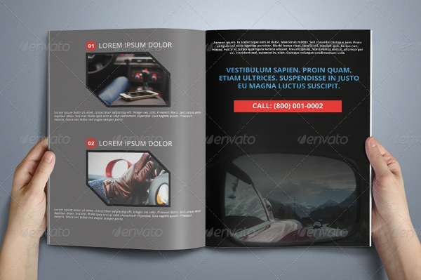 fully editable multipurpose business brochure