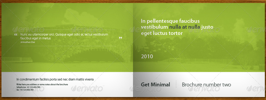 get minimal brochure 02