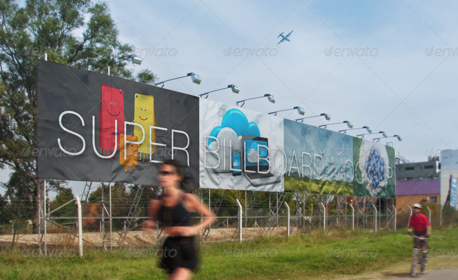 giant outdoorbillboard example