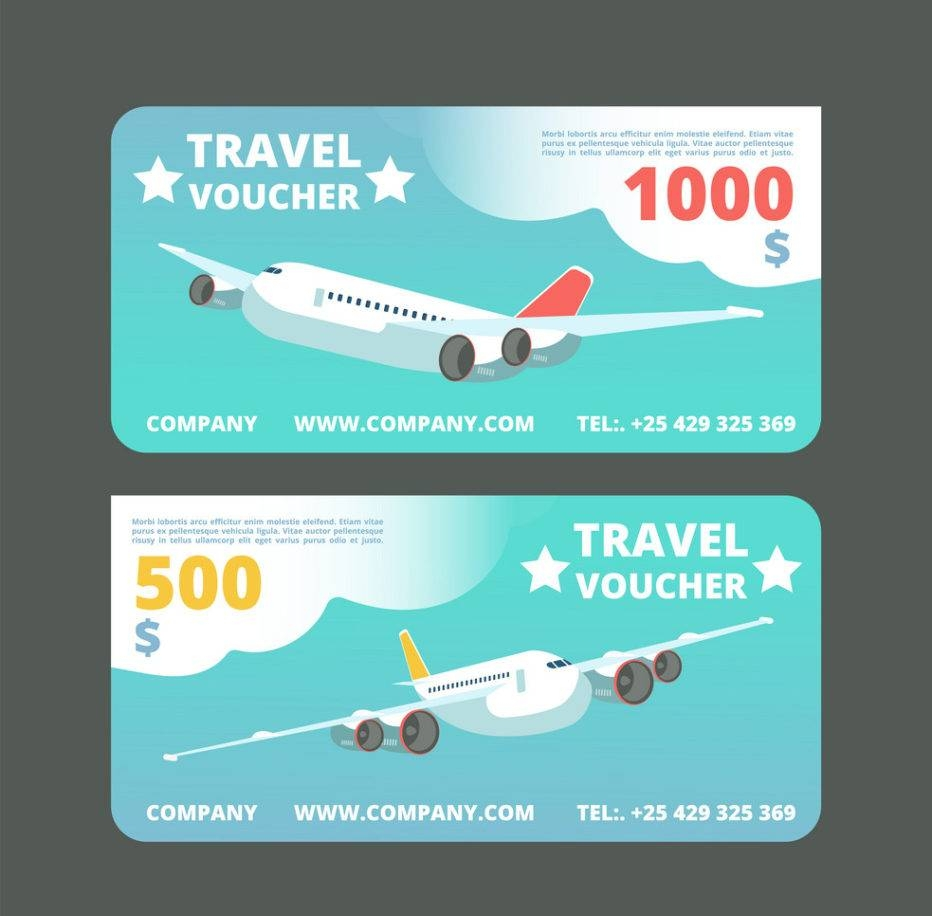 33  travel voucher examples