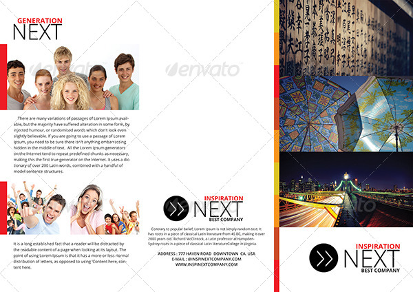 gstudio business tri fold brochure