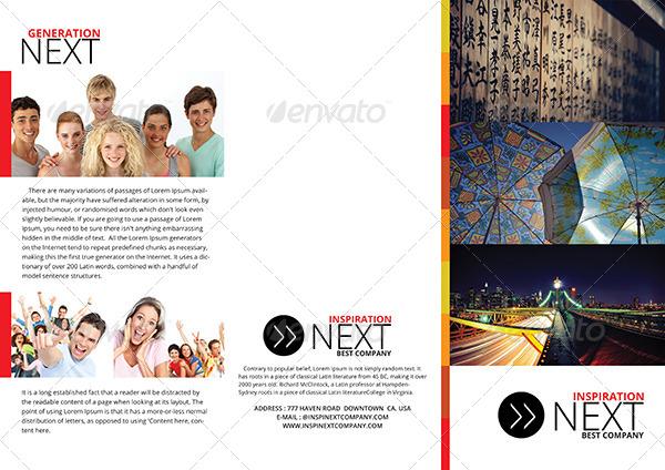 gstudio business tri fold brochure