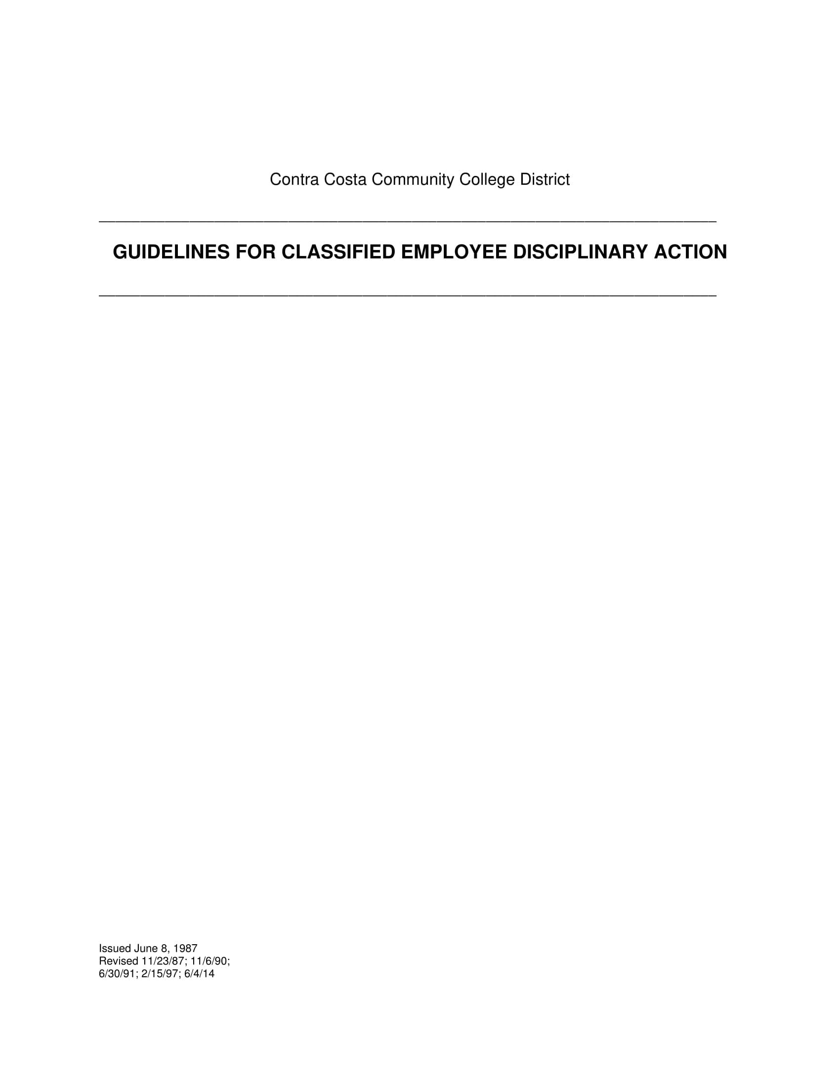 guidelinesclassifiedemployeedisciplinaryaction 01