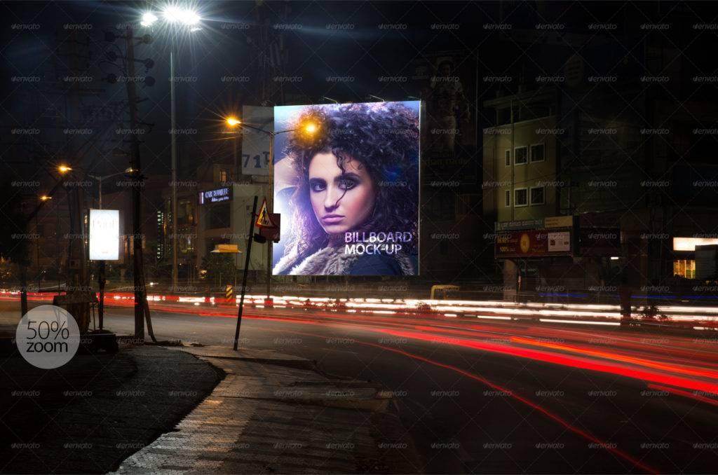 high quality billboard mock ups