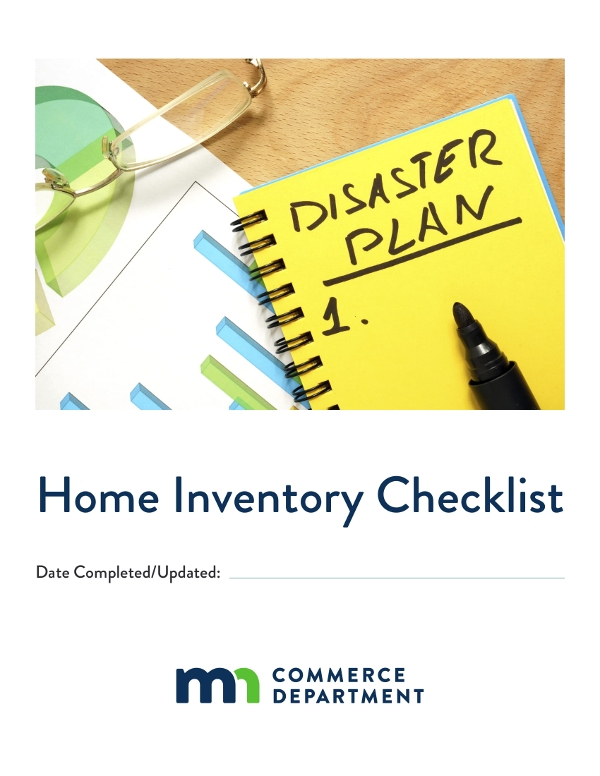 home inventory checklist example