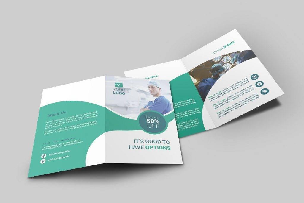 hospital sample brochure