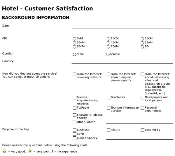 hotel customer satisfaction